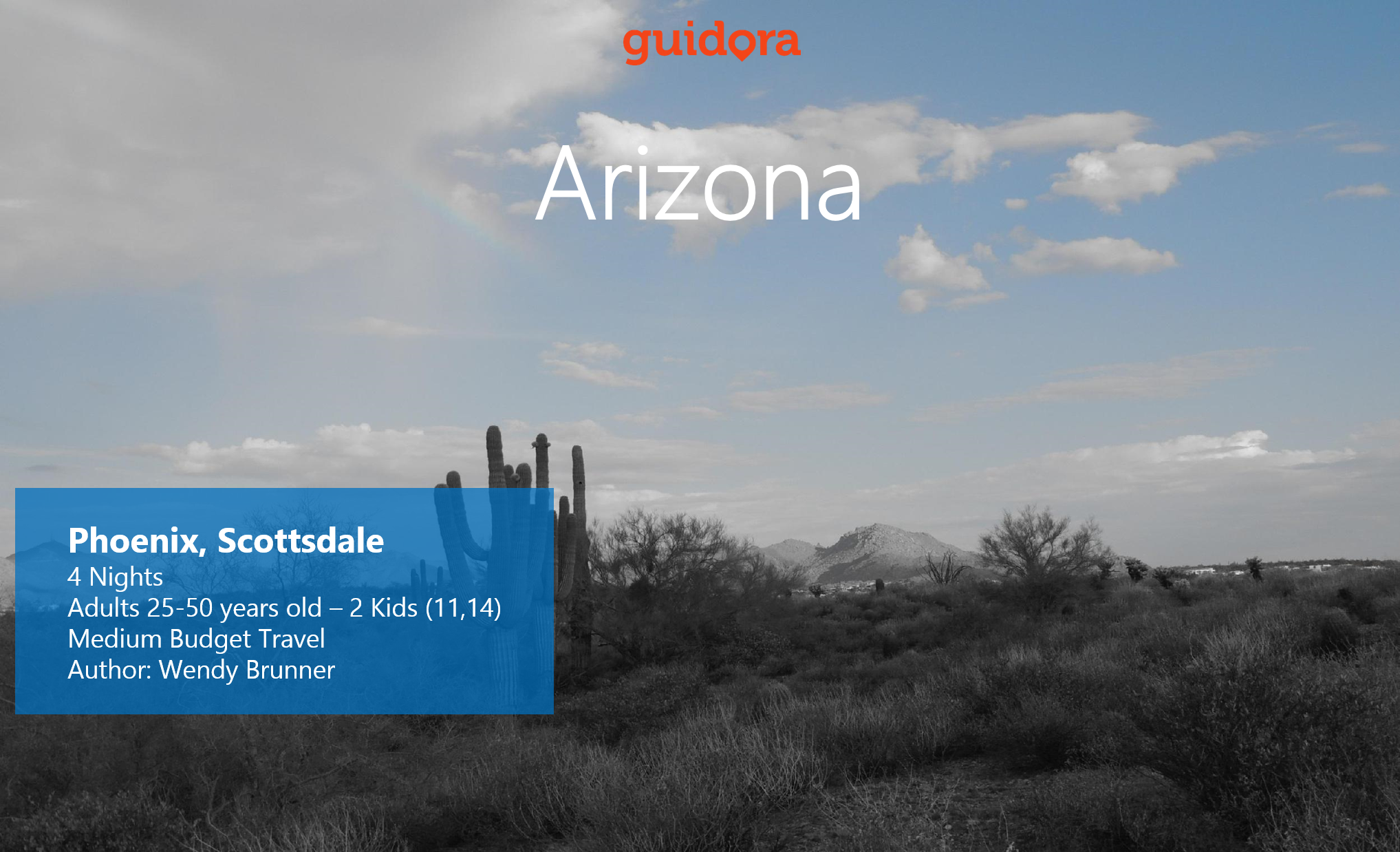 What to do in Phoenix, Scottsdale in Arizona: 4 Nights Travel Itinerary [PDF]