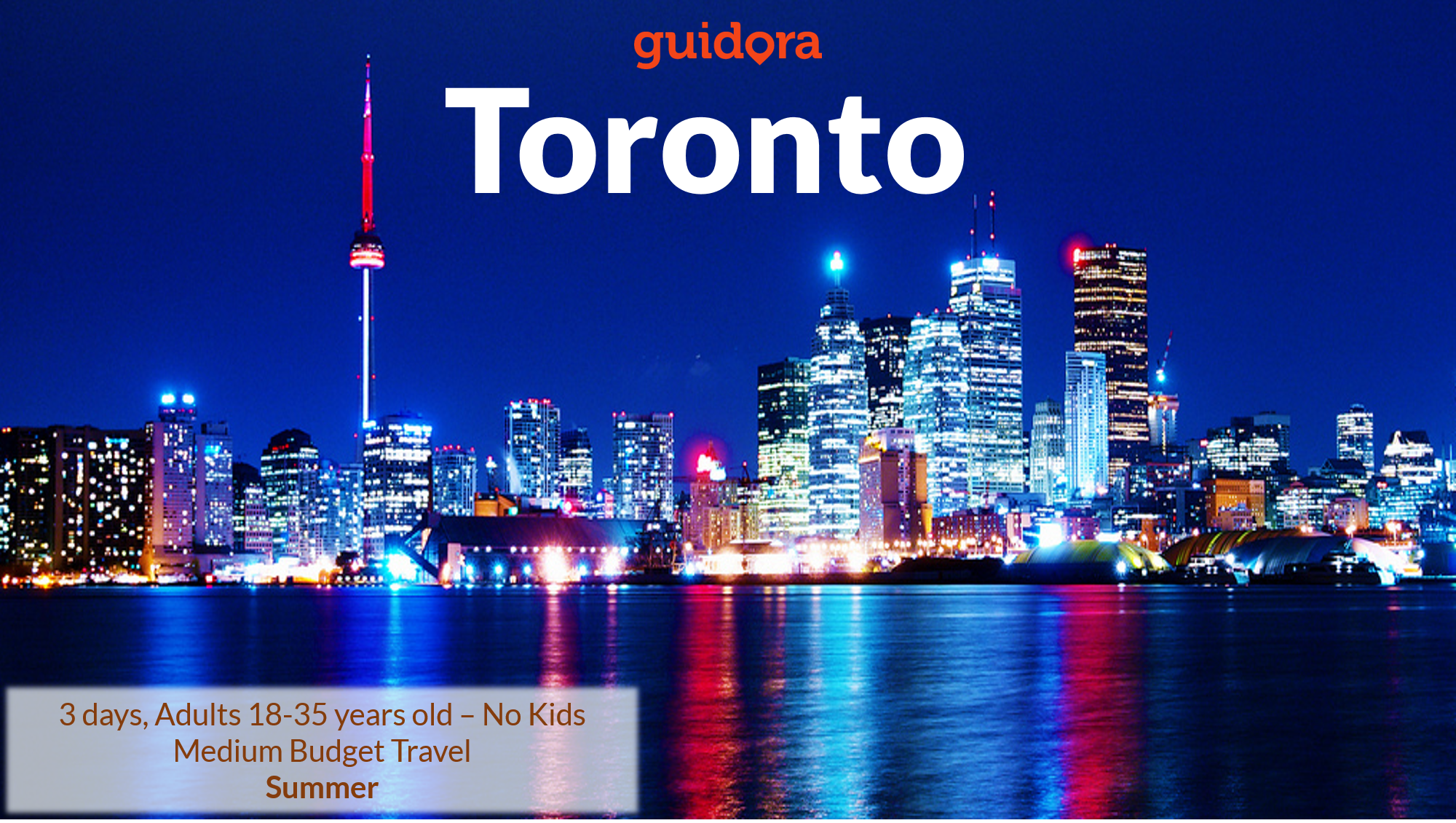 What to do in Toronto: 3 Days Travel Itinerary [PDF]