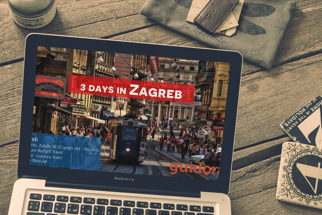 Zagreb: 3 Days, Detailed Travel Itinerary Guide [PDF]