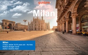 3 days travel itinerary to Milan