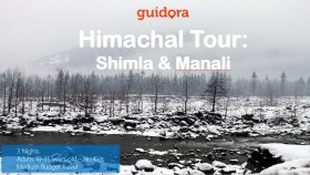 Shimla travel itinerary