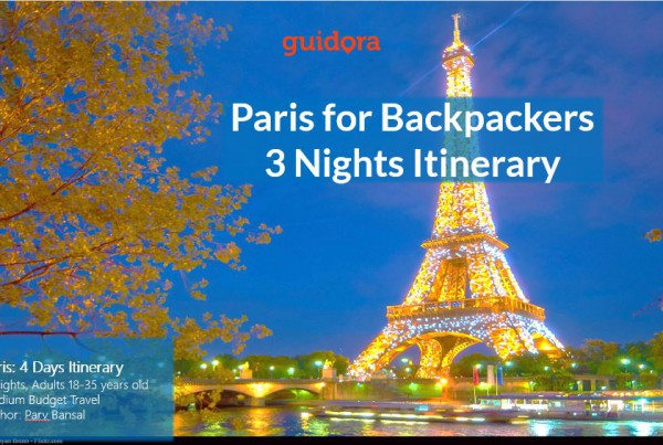 Paris for Backpackers