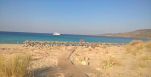 Megalos Simos Beach
