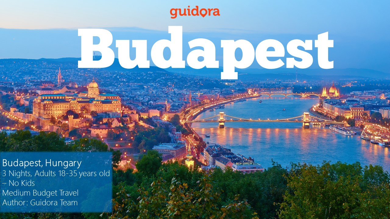 Budapest in 3 Days, Travel Guide 2016 in PDF