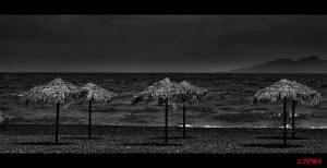 Everybody gone home at Santorini