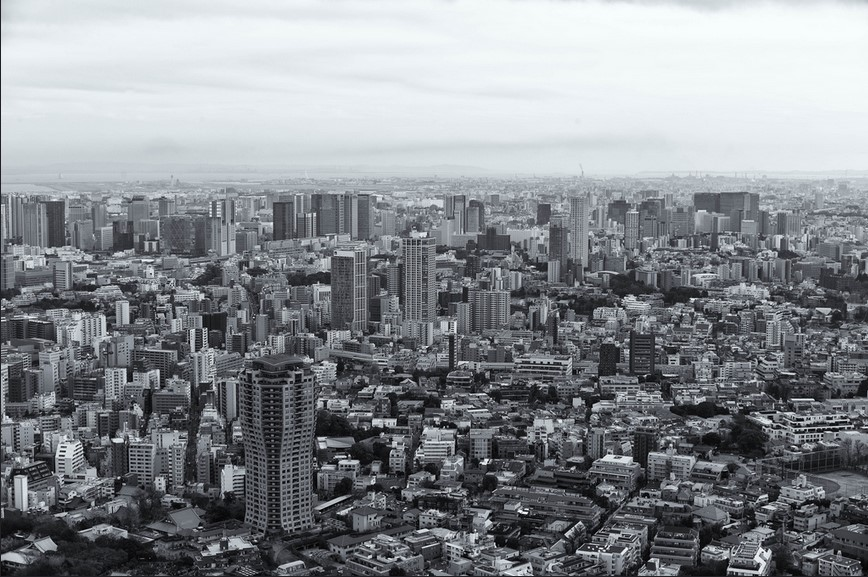 Tokyo 7 - View from Roppongi Hills