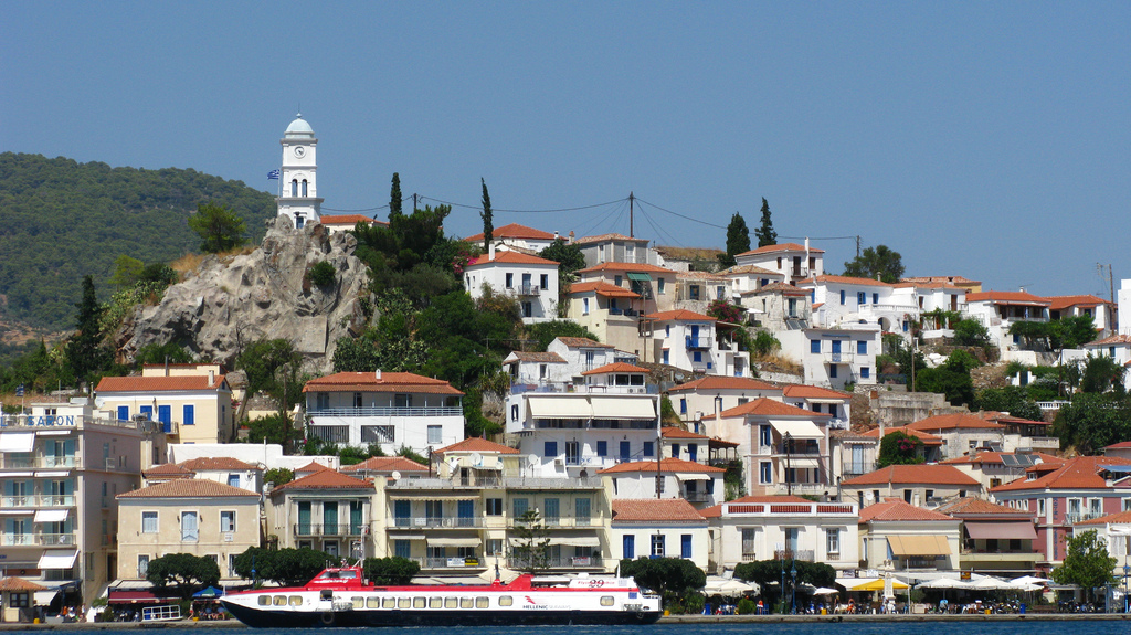 poros greece photo