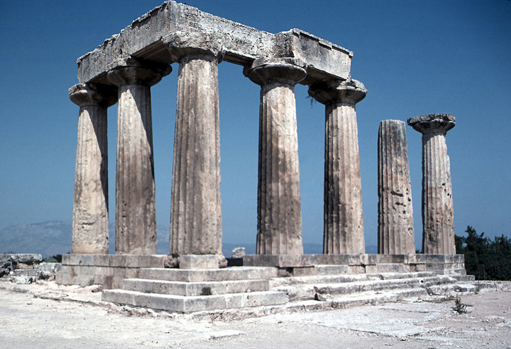 ancient corinth photo