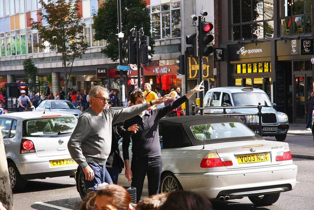 Hail a taxi photo