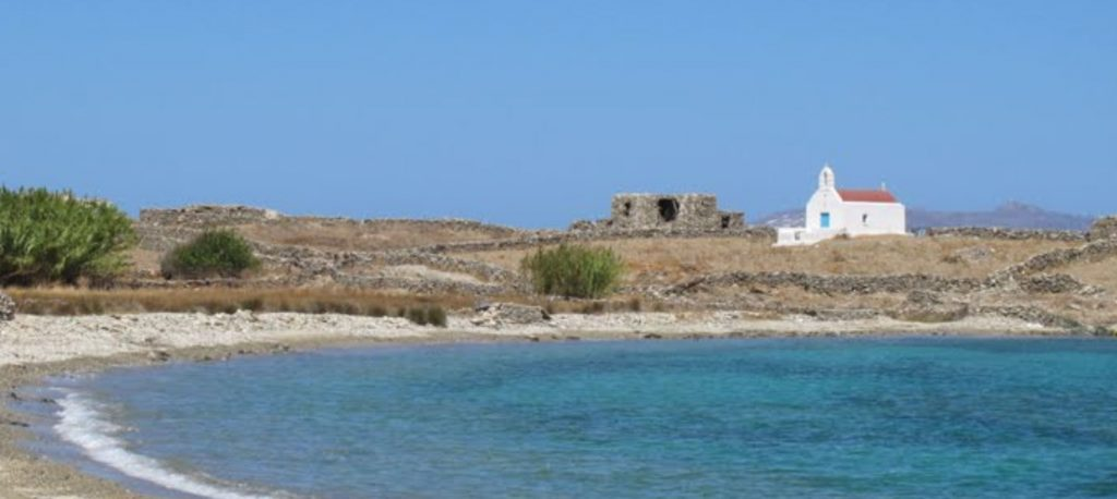 Rhenia island Church