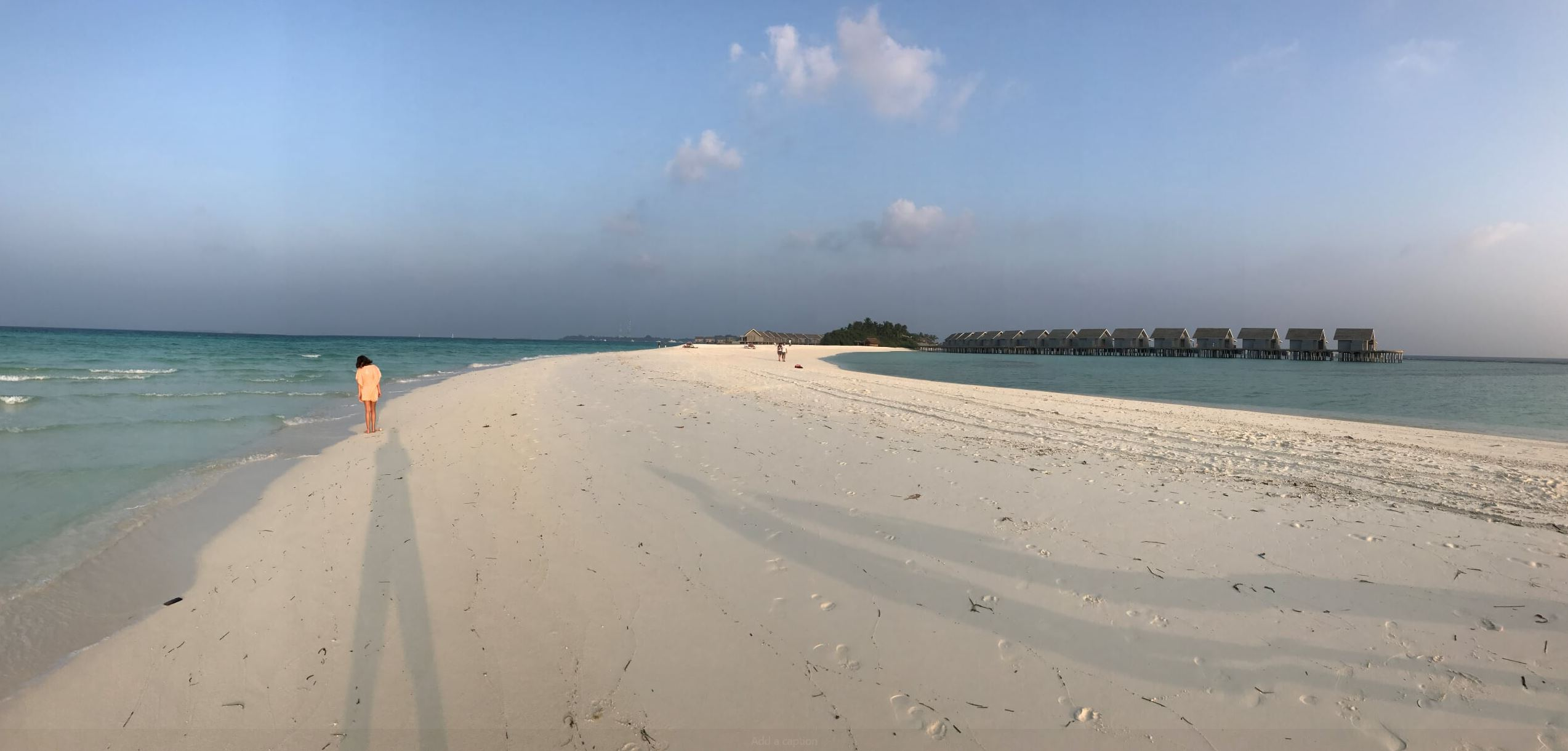The Sand Stripe at Kuramathi Island Resort