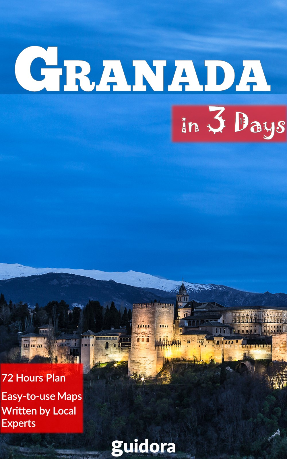Granada in 3 Days Kindle Book Cover