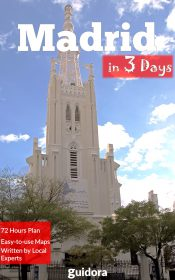 Madrid in 3 Days kindle book Cover