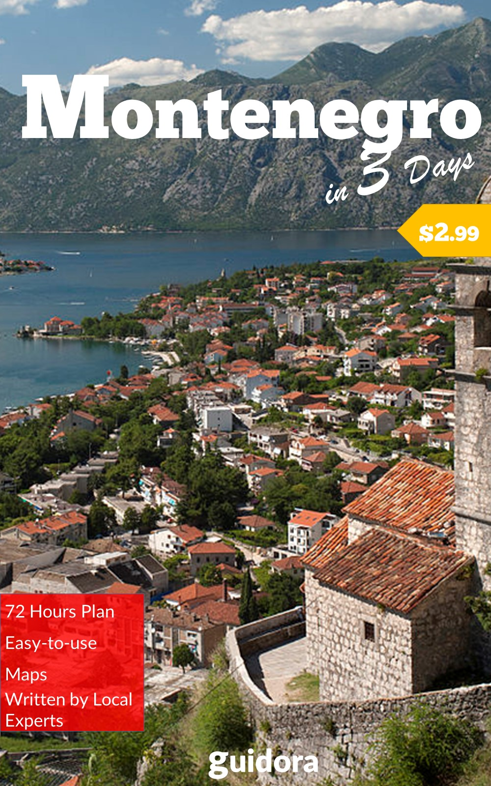 Montenegro in 3 Days, Travel Guide 2017