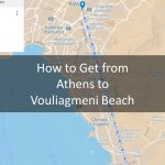 How to get to Vouliagmeni beach from Athens