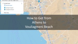 How to Get from Athens to Vouliagmeni Beach