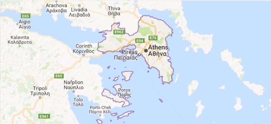 Where Is Attica Greece Guidora - Where is athens