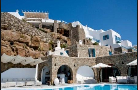 Kouros Hotel and Suites - One of the best 5 star hotels in Mykonos
