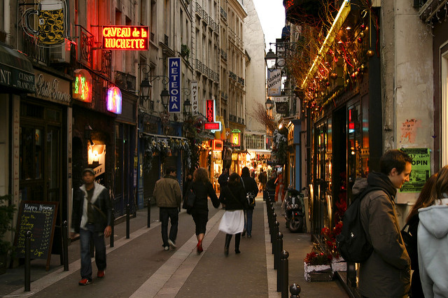 Here is a photo that shows the beautiful streets of the Latin quarter (image credit: Brian Jeffery Beggerly)