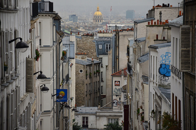 A view of Montmartre