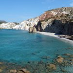 Firiplaka Beach in Milos, Greece