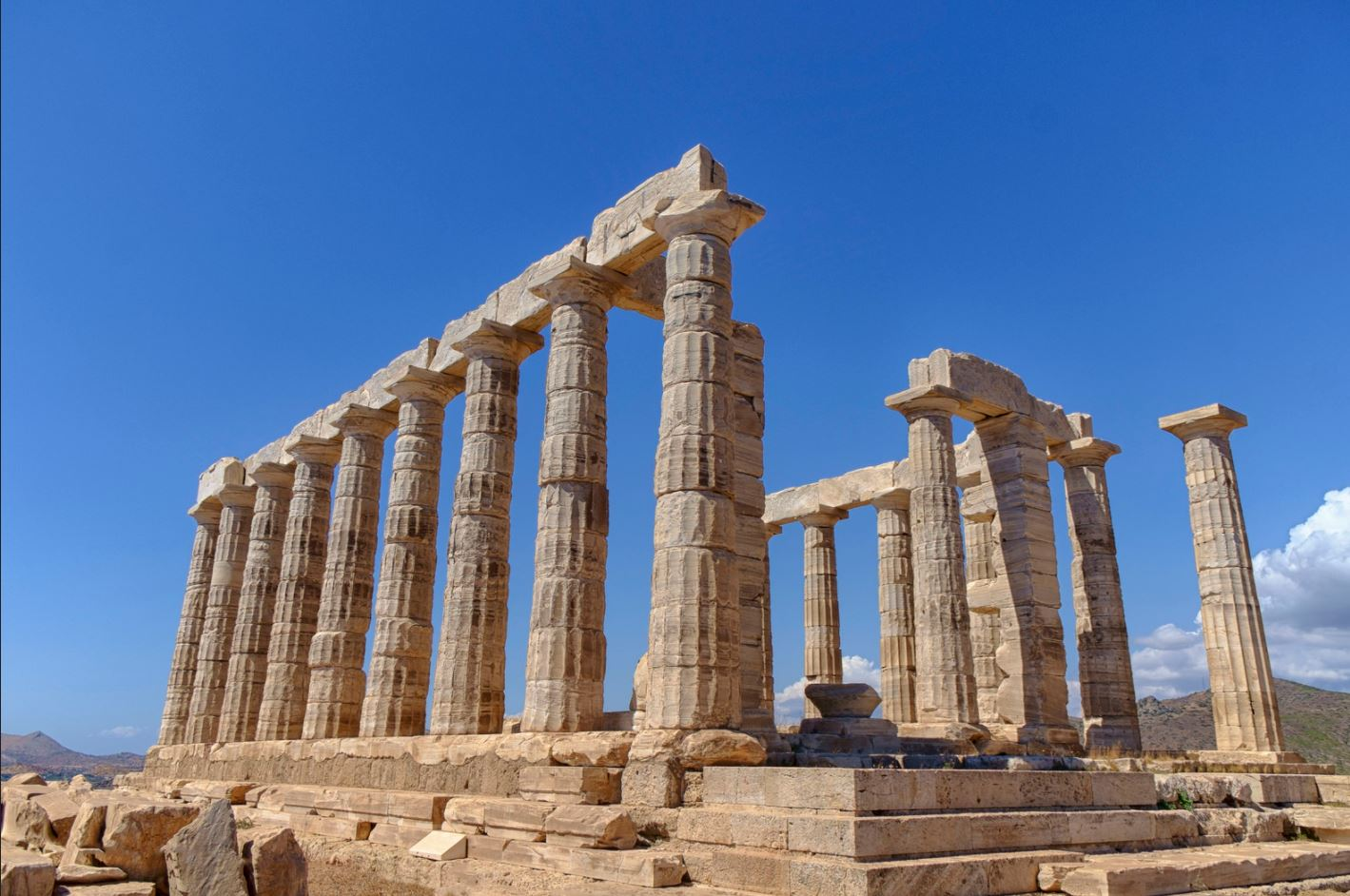 How to get to Sounio from Athens