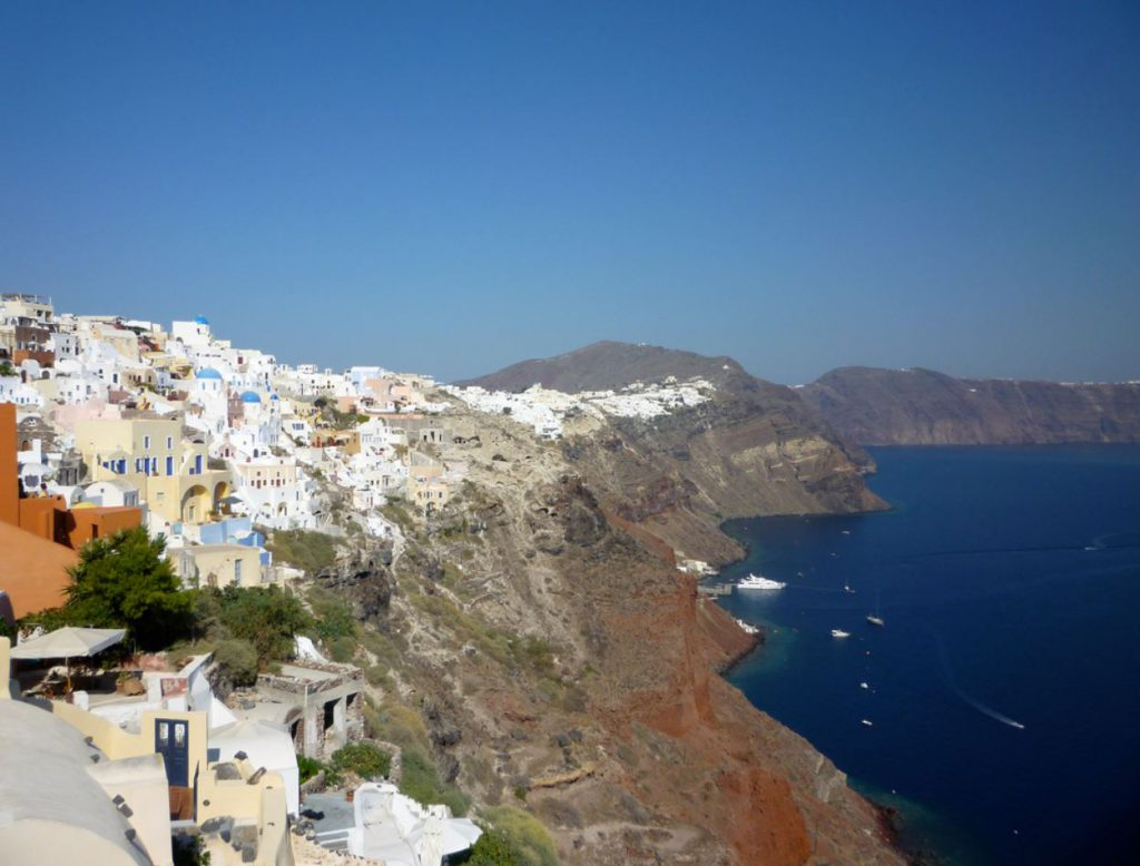 Where to Stay in Santorini: Oia Village