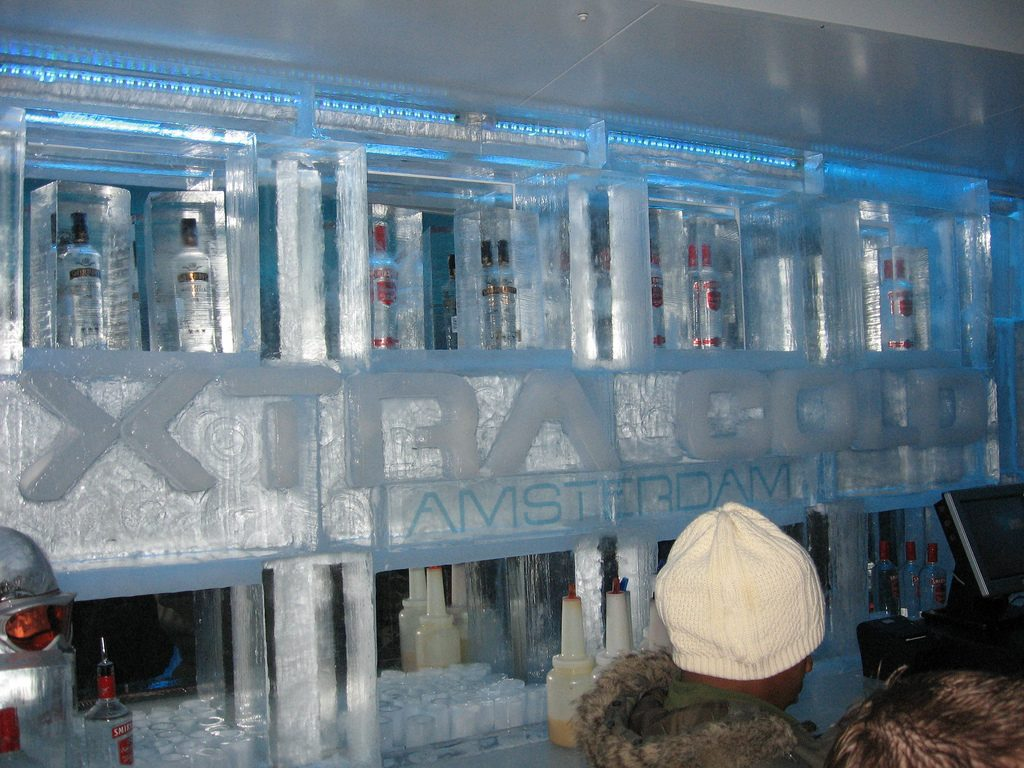 Ice Bar in Amsterdam