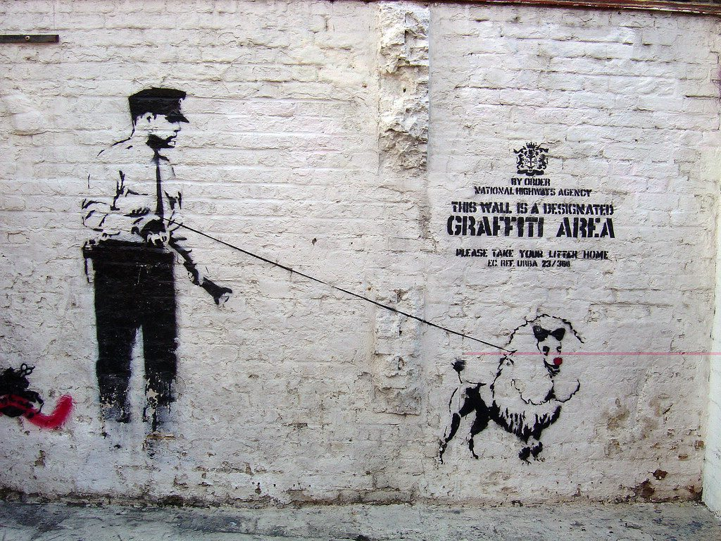 Banksy Art in London