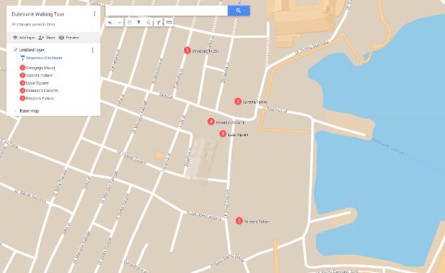 Dubrovnik - Walking Guide