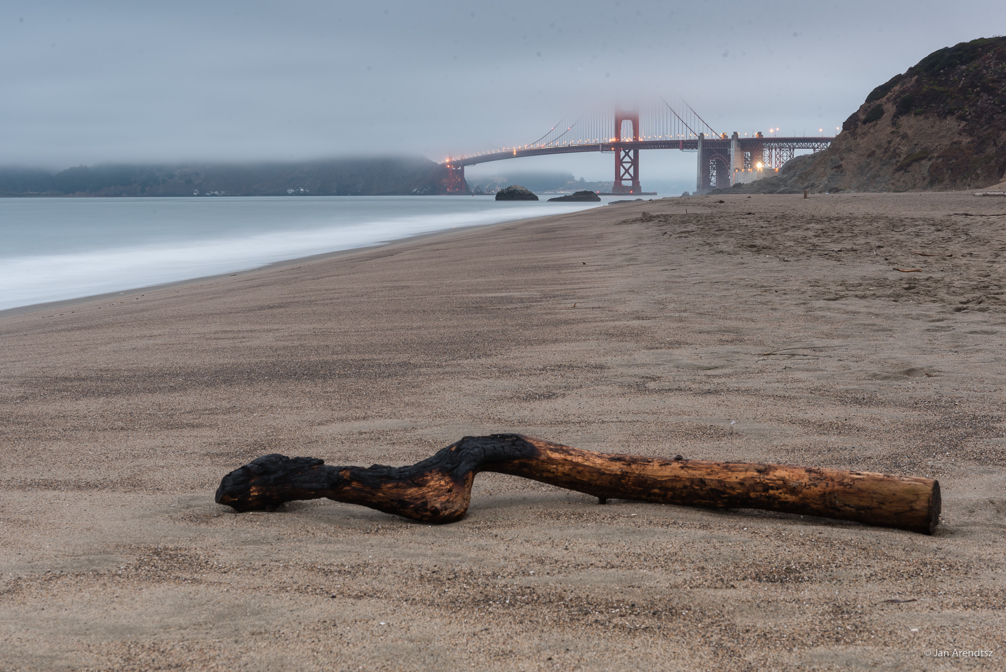Baker Beach in San Francisco