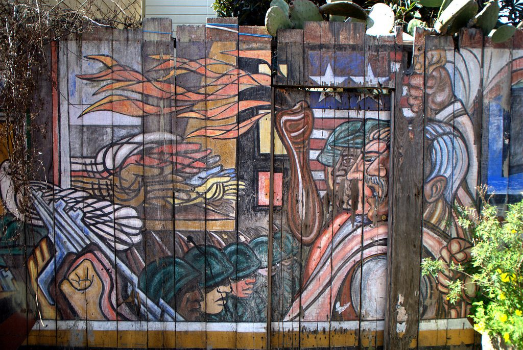 Bamy Street Murals - Walking Tour in San Francisco