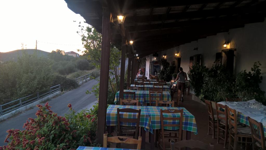 Hersonas Tavern the view