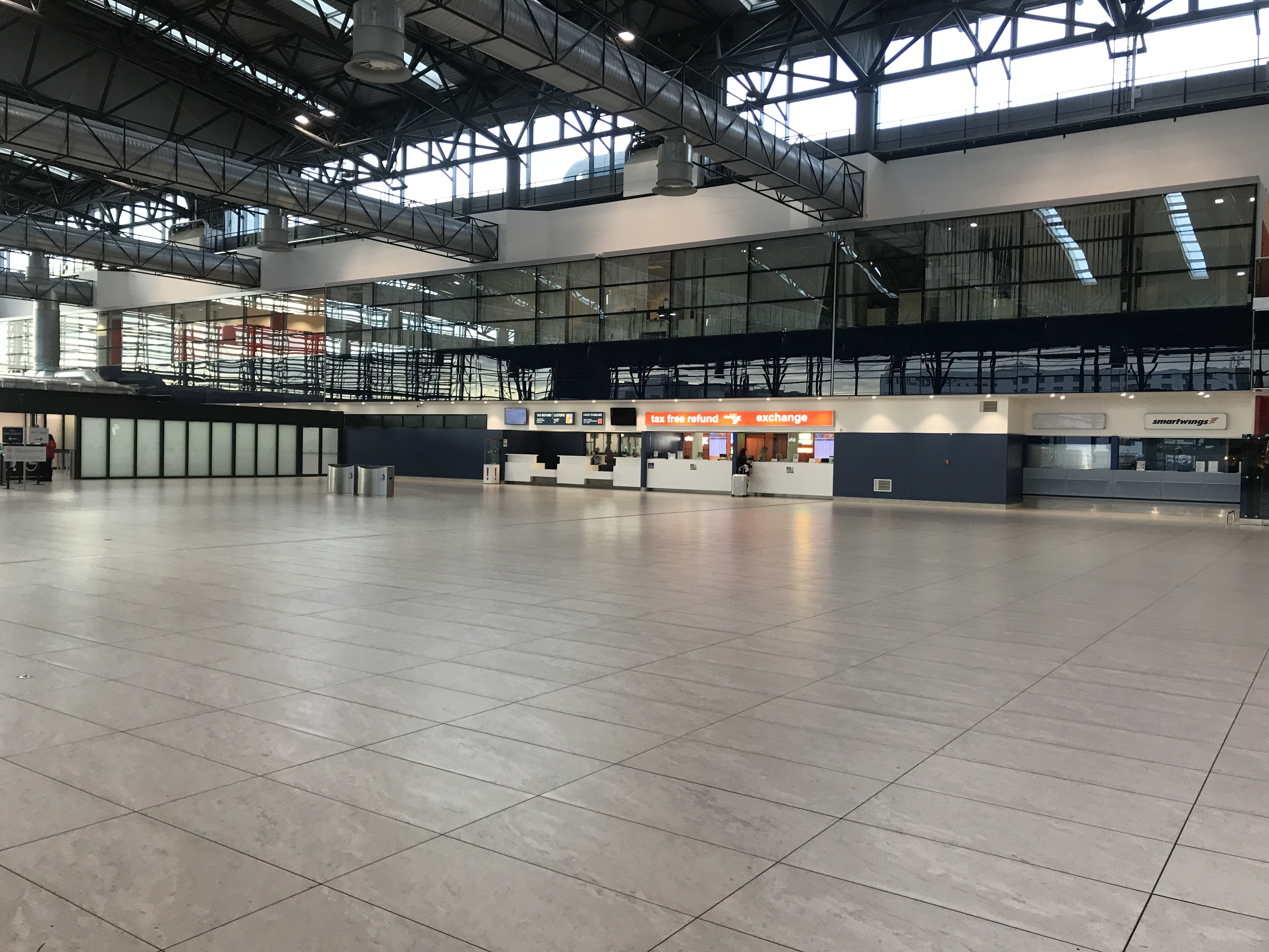 Prague Tips - You can exchange your koronas to your local currency at the exchange office in the main entrance of the Prague Airport