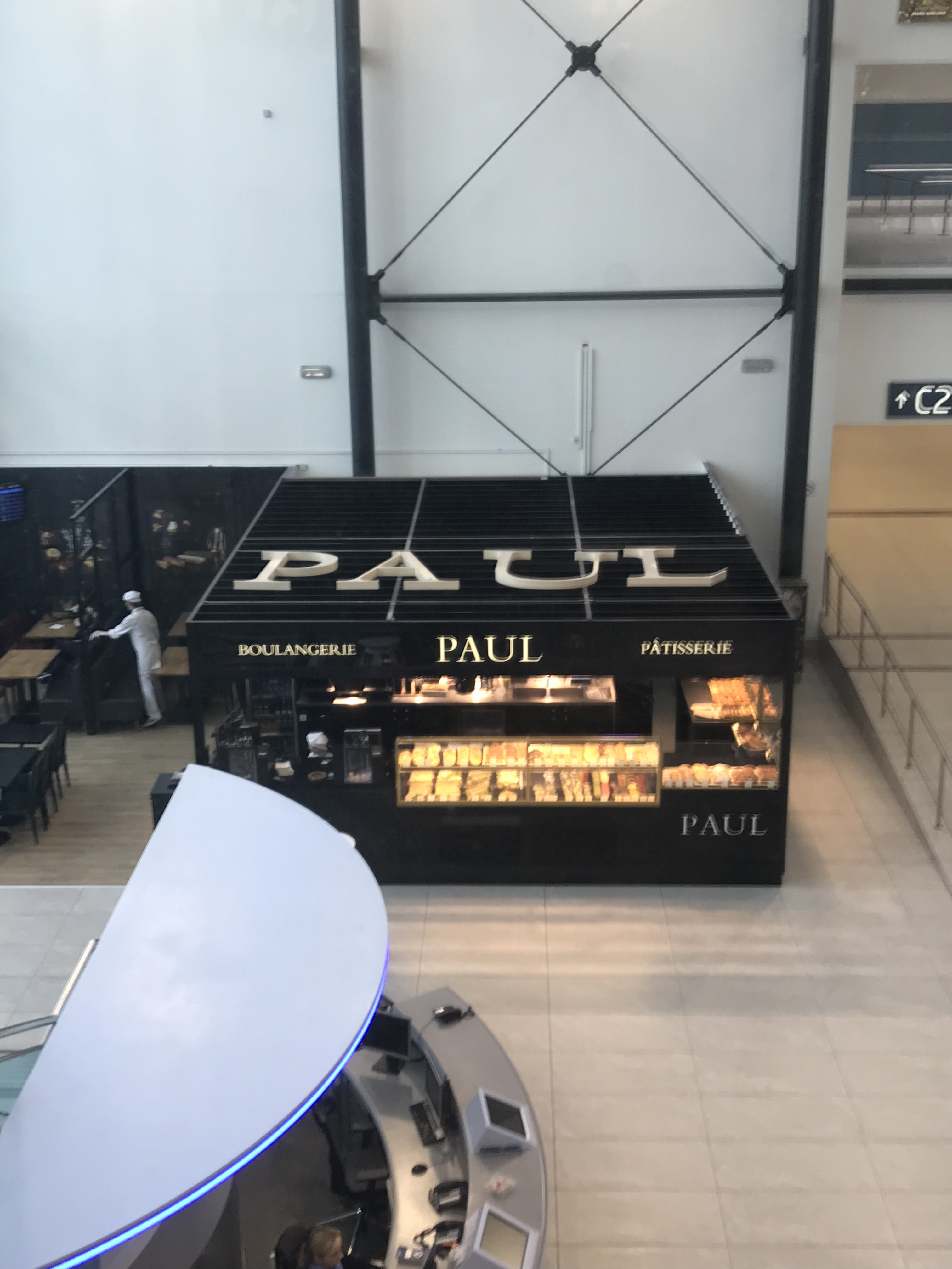 Prague Tips - Paul is your best bet in getting something quick to eat before your flight