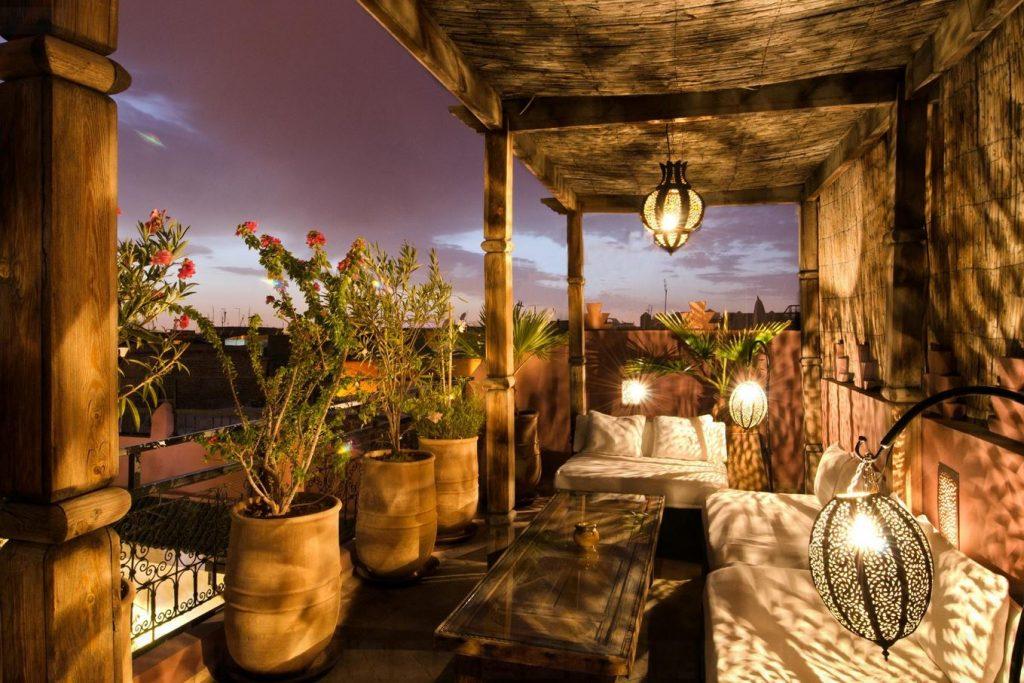 Dar Rocmarra. Rooftop terrace