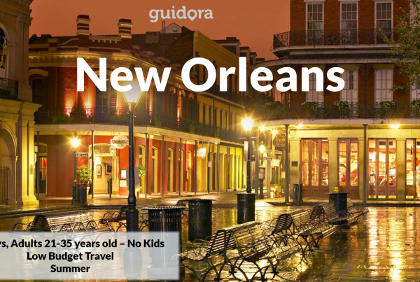3 days in New Orleans, Louisiana