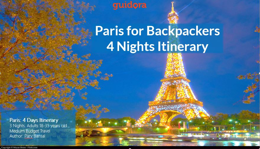Paris for Backpackers - 3 Nights Itinerary