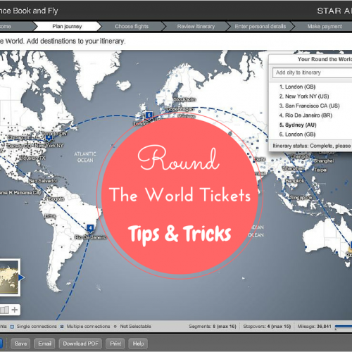 Round The World Tickets- Tips and