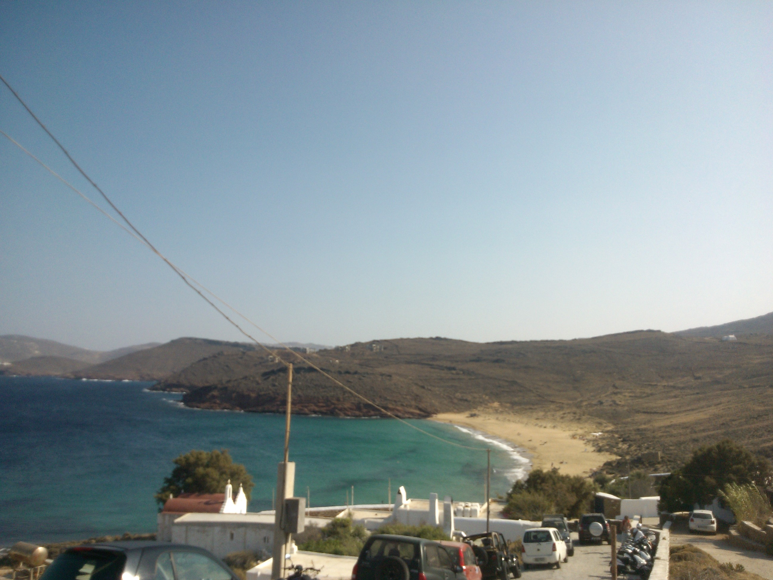 Agios Sostis Beach in Mykonos