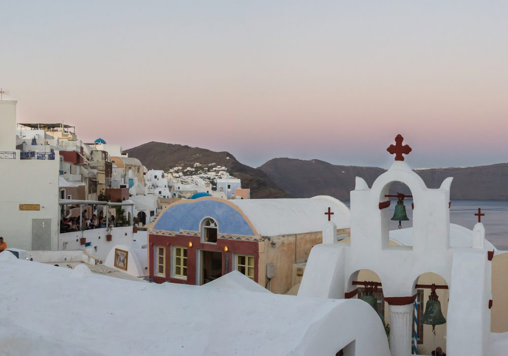 A church in Oia, Santorini