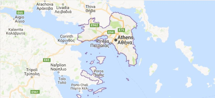 Where is Attica Greece