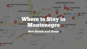 Where to Stay in Montenegro