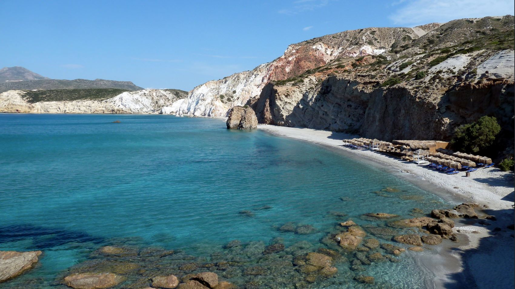 Firiplaka Beach in Milos