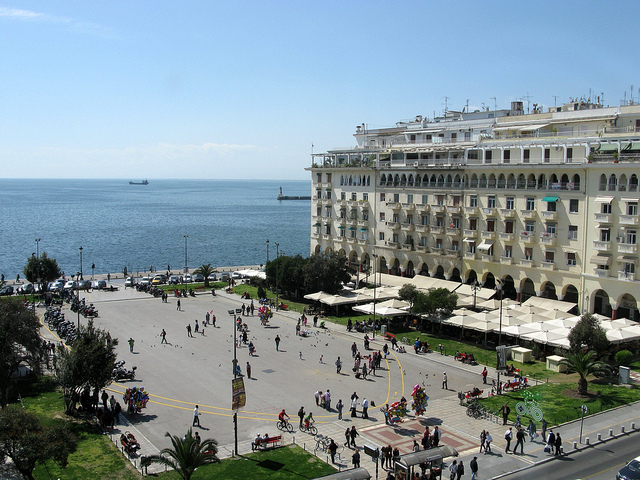 Aristotle's Square in Thessaloniki