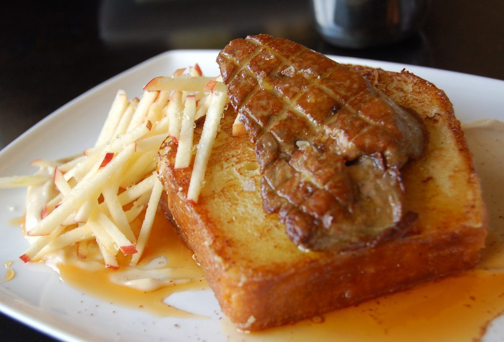 Foie gras and french toast